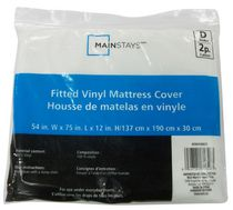 Fitted Vinyl Mattress Cover Double