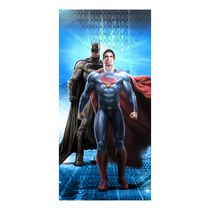 "BatmanV Superman ""Planet Safe"" Beach Towel"