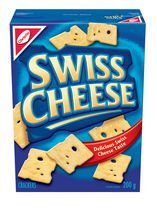 Swiss Cheese Crackers