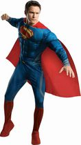 Superman Deluxe Adult Costume Large