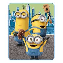 Minions Riverside Silk Touch Throw