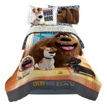 "The Secret Life of Pets ""Wish You Were Here"" Twin/Full Comforter Universal Studios"