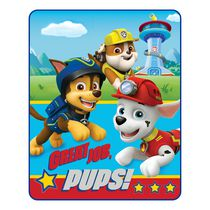 Nickelodeon Paw Patrol Great Job Pups Silk Touch Throw
