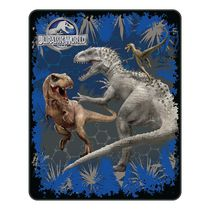 Universal Jurassic World Rumble in the Jungle Silk Touch Throw