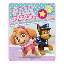 Nickelodeon Paw Patrol Pawesome Pals Silk Touch Throw