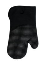 Hometrends Oven Mitt with Silicone Black