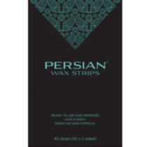 Persian Wax Strips Legs & Body