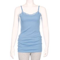 George Women's Lace Cami Blue M/M