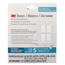 3M Canada Basic Window Insulator Kit, 5 Window