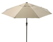 Parasol inclinable de hometrends, 9 pi Beige