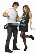 USB Port & Stick Couples Costumes 2 in 1