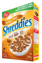 Shreddies au Miel de Post