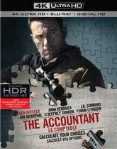 The Accountant (4K Ultra HD + Blu-ray + Digital HD)
