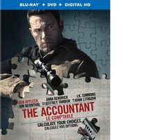 The Accountant (Blu-ray + DVD + Digital HD) (Bilingual)