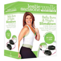 Leslie Sansone: Belly, Buns And Thighs Slimdown