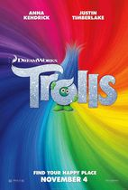 Trolls (DVD + Digital HD)(Bilingual)