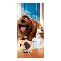 "Secret Life of Pets ""Town Life"" Beach Towel"