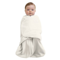 Halo Innovations Safe Dreams Swaddle Wearable Fleece Blanket Cream