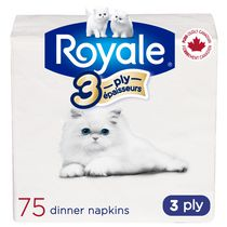 ROYALE 3-ply Dinner Napkins