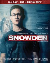 Snowden (Blu-ray + DVD + Digital HD) (Bilingual)