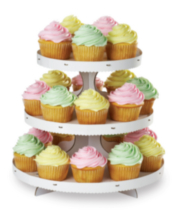 Cupcake and Treat Stand White