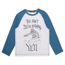 George British Design Boys' Yeti Long Sleeve Raglan 8