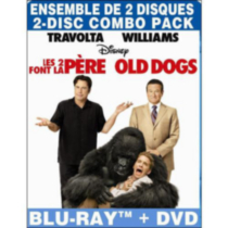 Old Dogs (Blu-ray + DVD) (Bilingual)