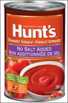 Hunt's® No Salt Added Tomato Sauce