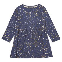 George British Design Toddler Girls' Navy All Over Print Star Dress 2T