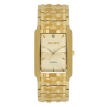 Elgin Men's Goldtone Nugget Watch