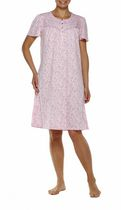 George Women's Flutter Sleeve Gown Pink 2X