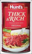 Hunt's® Original Thick & Rich Pasta Sauce