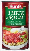 Hunt's® Four Cheese Thick & Rich Premium Pasta Sauce