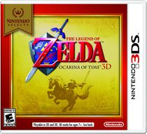 Jeu vidéo Nintendo Selects : The Legend of Zelda Ocarina of Time 3DS