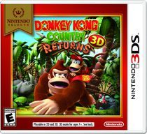 Jeu vidéo Nintendo Selects : Donkey Kong Country Returns 3DS