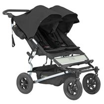 Mountain Buggy Duet Double Stroller Black