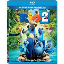 Rio 2 (Blu-ray + DVD + Digital HD) (Bilingual)