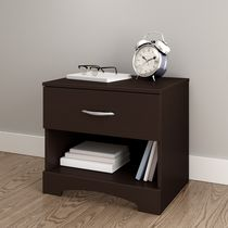 South Shore SoHo Collection Night Stand Dark Brown