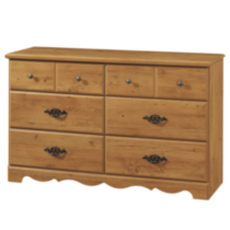 South Shore Prairie Collection Dresser, Country Pine Model # 3232027
