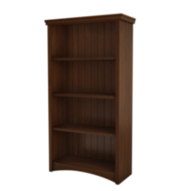 South Shore Artwork 4-Shelf Bookcase Cherry