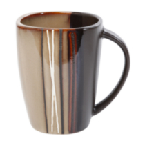 hometrends Bazaar Brown Mug