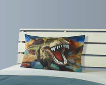Mainstays Kids Photo Real Dynamic Dino Pillowcase