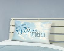 "Mainstays Kids ""Don't quit your daydream"" printed Pillowacse"