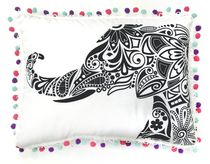 Mainstays Kids Elephant Décor Pillow