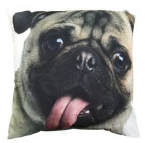 Mainstays Kids Photo Real Pug Decor Pillow