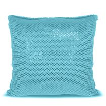 Mainstays Kids Blue Sequins Decor Pillow
