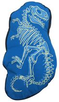 Mainstays Kids Sketchy Dino Décor Pillow