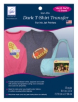 Dark T-Shirt Transfer -- Value Pack