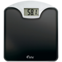 Weight Watchers® Digital Glass and Chrome Scale
