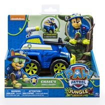 PAW Patrol Jungle Rescue Chase's Jungle Cruiser Toy Vehicle